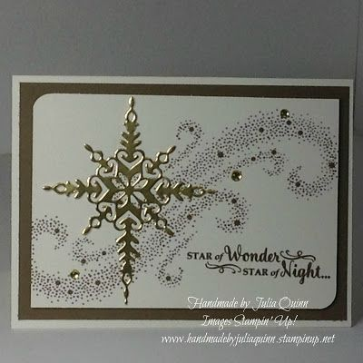 handmade by Julia Quinn - Independent Stampin' Up! Demonstrator: Stampin'…
