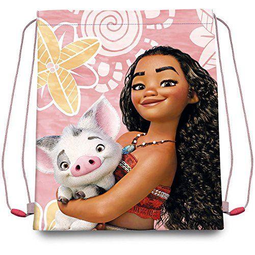 Vaiana Moana Disney Drawstring Bag Small Carry Bag For Children