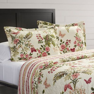 Found it at Wayfair - Butterflies Coverlet Set