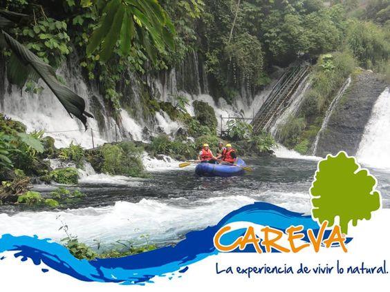 Vista desde el jardín. Nacimiento del #RíoActopan.  Nosotros te llevamos #careva