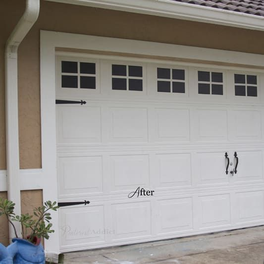19 Hella Cheap Ways To Make Your Home Look More Expensive Garage Door Hardware Garage Door Styles Garage Doors