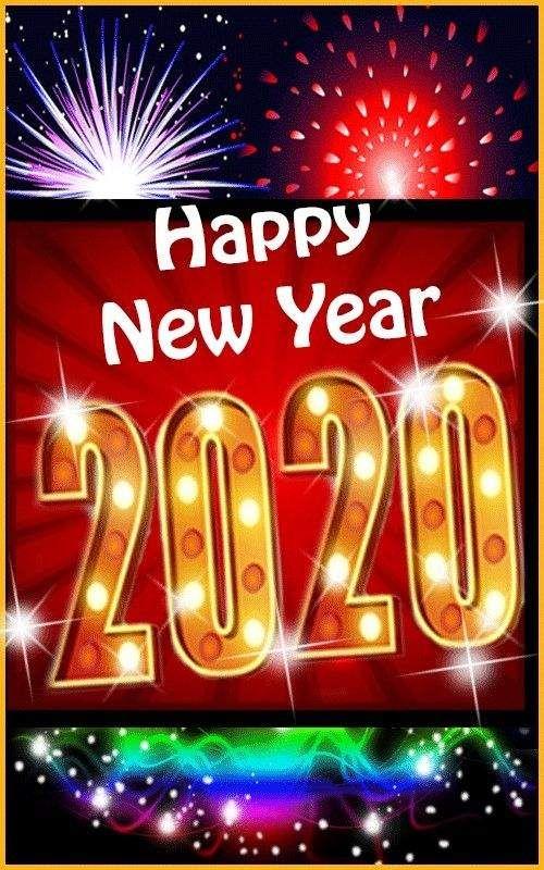 Happy New Year Photos 2020 Happy New Year Greetings Happy New Year Images Happy New Year Animation