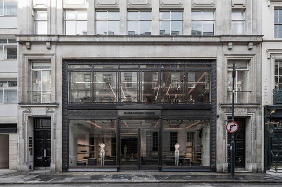 AlexanderWang's New shop in LONDON