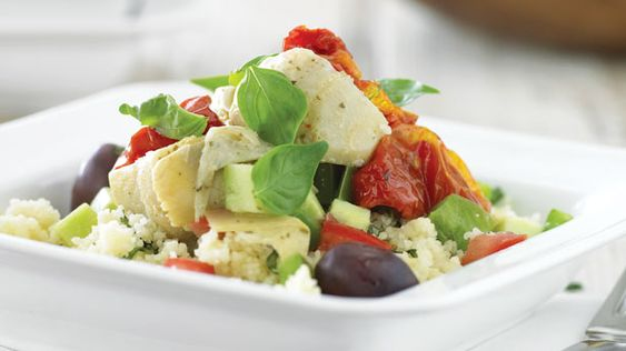 Recipes+ shows you how to make this couscous and vegetable salad recipe.