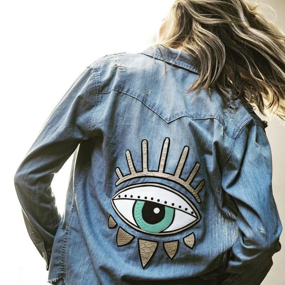 Beautiful Embroidered Jean Jacket