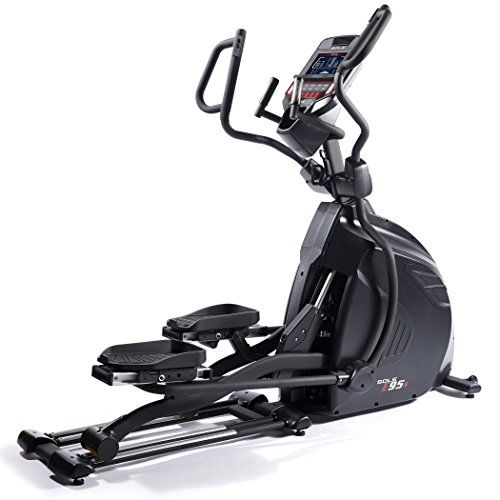 Sole E95s Elliptical With Adjustable Stride Length And Bluetooth