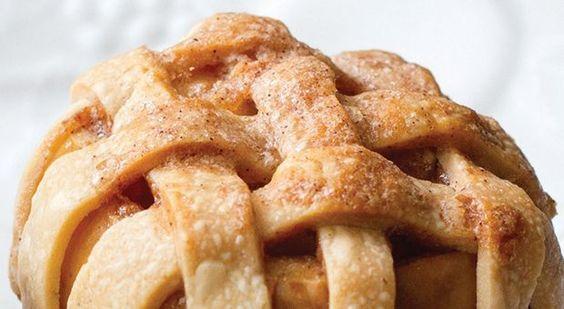Apple pie with a twist.