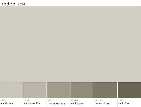 colors we are using in our house rodeo from benjamin