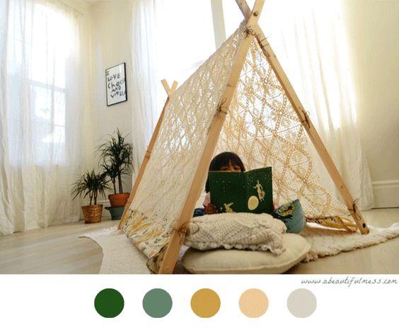 tente pour enfant diy kids enfant diy enfant. Black Bedroom Furniture Sets. Home Design Ideas