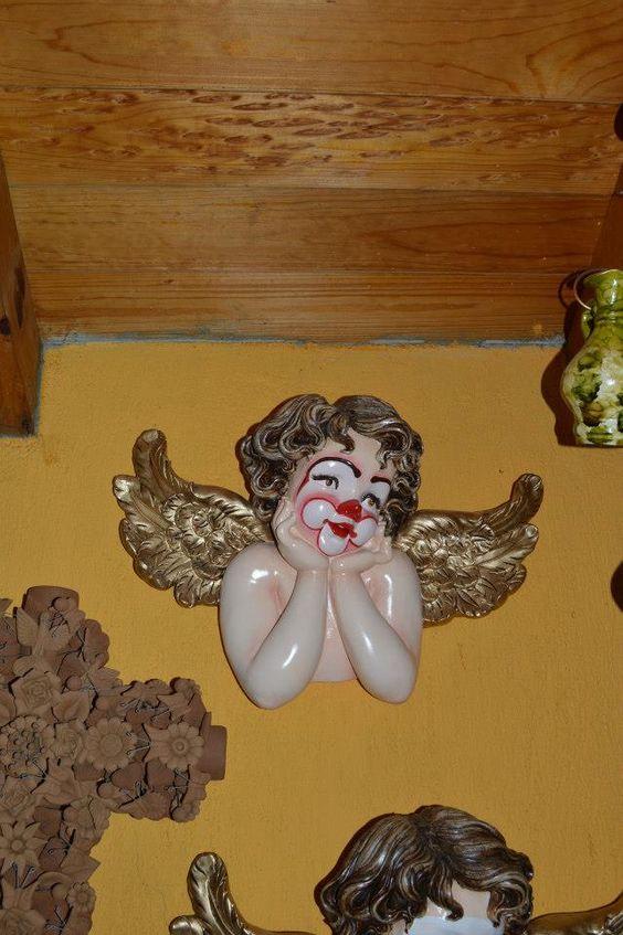 El ángel cómico