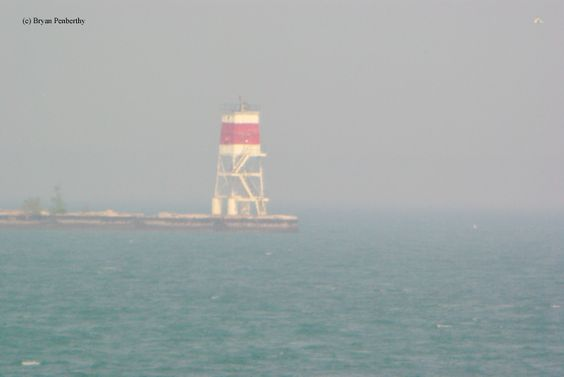 Calumet Harbor Breakwater South End Lighthouse Picture
