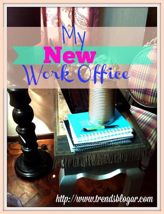 Meu Novo escritório trends blogar