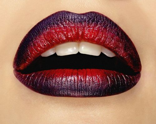 #sexy #ombre #lips #Makeup