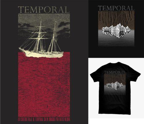 'Temporal' by Natxo Medina.  Artwork by Error! Design (http://error-design.com/v6/)  CAMPAIGN: http://www.verkami.com/projects/245-temporal-teaser-trailer  +INFO: http://temporales.tumblr.com