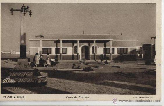 Postal Villa Bens: casa de Correos / foto Hernández Gil - Foto 1