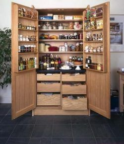 A Freestanding Pantry For Small Spaces Kitchen Pantry Design Stand Alone Kitchen Pantry Pantry Design