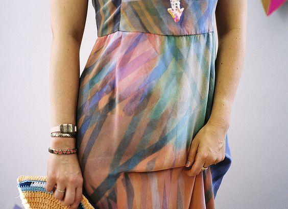 ERMIE Prism Print Midi Dress by Aunt Ermie, via Flickr