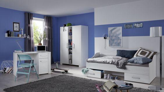 Popular Bettanlage ETTLINGEN Bett f r Schlafzimmer wei und hell grau x Einrichtungsideen Pinterest Schlafzimmer wei Bett und Einrichtungsideen