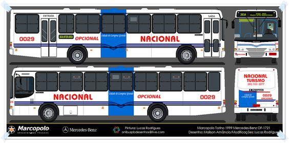 DESENHOS ONIBUSALAGOAS: NACIONAL 0029
