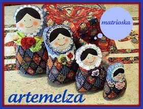 ARTEMELZA - Arte e Artesanato: Matrioska–bonecas russas