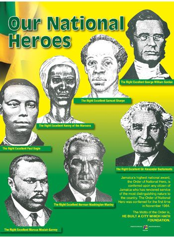 Jamaica National Heroes: