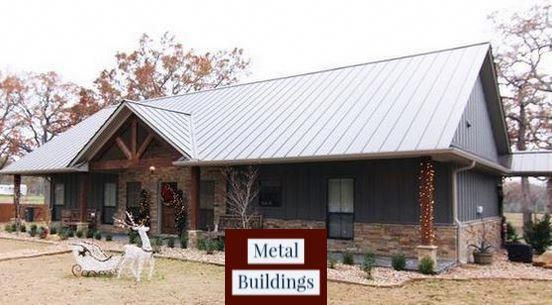 Alan S Factory Outlet Has Sturdy Steel Buildings Illinois Residents Will And Pole Barn Homes Pl Simple Ranch House Plans Barn Style House House Plans Farmhouse