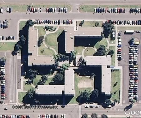 OOPS! This is a US Navy building in Coronado, CA that was unintentionally built in the shape of a swastika.  The building, constructed in 1967, happens to be in the exact shape of a swastika. Navy officials admitted to having discovered this many years ago but since there is a no-fly zone above the navel base, they figured no one would see it. Well, the eyes of Google Earth miss nothing. Now, because of a public uproar, the Navy will be spending 600,000 USD to alter the shape of the…