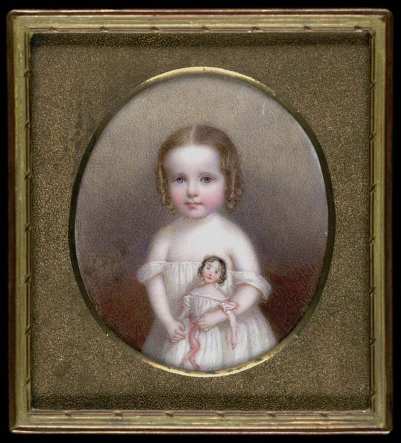 Little Girl with Doll by John Carlin, Smithsonian American Art Museum: