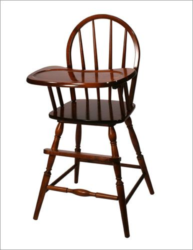 Rochelle Windsor Wooden High Chair in Heritage Cherry