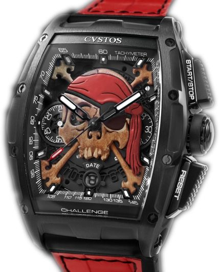 Cvstos Challenge Chrono II Invaders Pirate