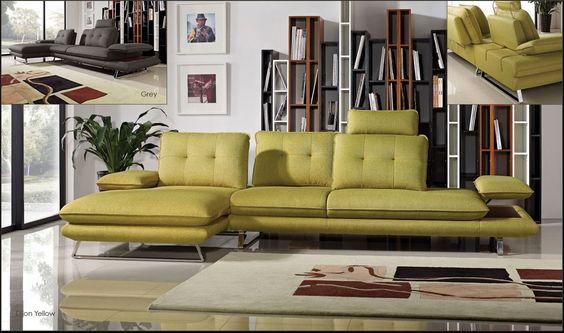 Diamond Eva 2 Pcs Sectional Sofa