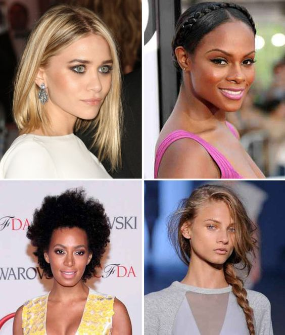 Summer Hair: 4 Ways   http://fashionwashere.net