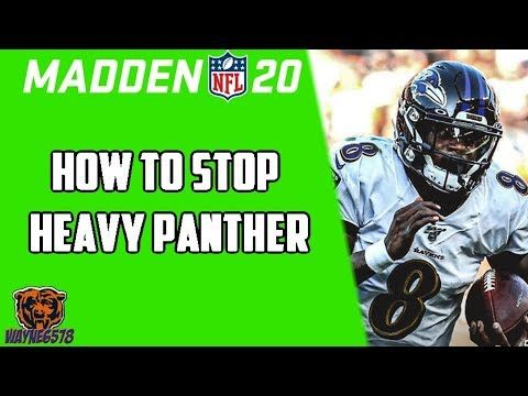 How To Force Fumbles Stop Heavy Panther Lamar Jackson Madden 20 Madd Lamar Jackson Jackson Panther
