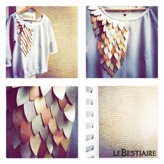 Volatiles grey *étoiles* sweat via lebestiaire. Click on the image to see more!