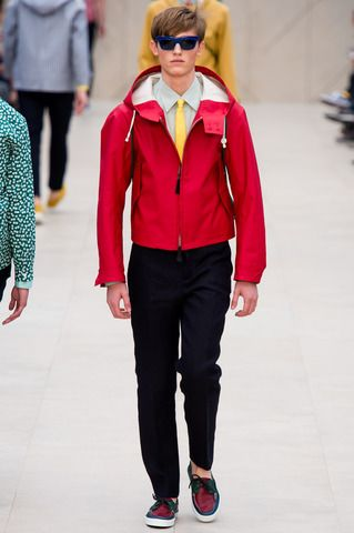 Burberry Prorsum Spring 2014 Menswear Collection Slideshow on Style.com