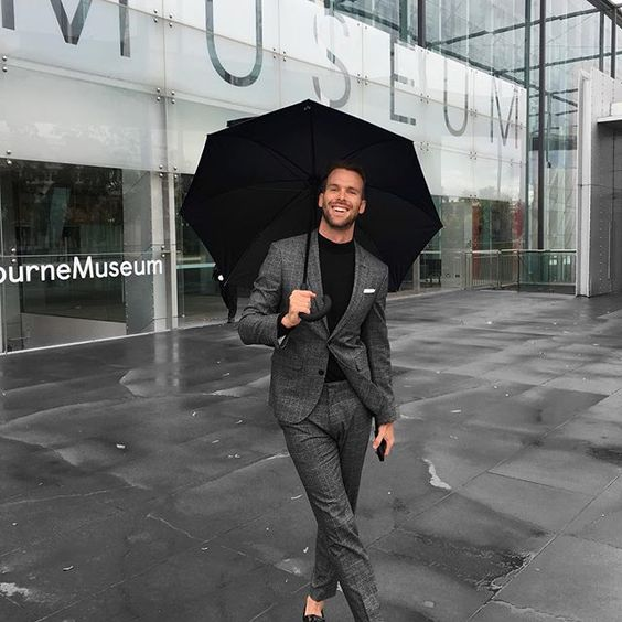 neutrals // menswear, mens style, fashion, grey, gray, black, suit, winter, street style, #sponsored