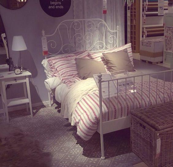 Ikea Master Bedroom: Ikea Leirvik Bed
