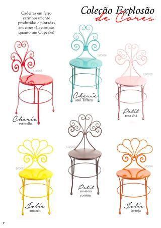 Cadeiras apaixonantes