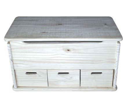 Ba l de madera 3 cajones leroy merlin ba l pinterest for Mueble para microondas leroy merlin