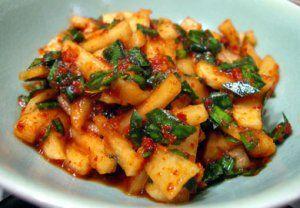 Turnip Kimchi | Kitchen Garden Recipes