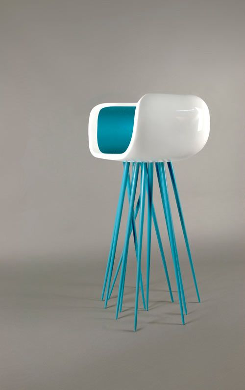 Millipedes michael o 39 keefe and created by on pinterest for Cool stool designs