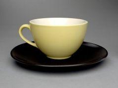 Cup and saucer URSULA FESCA (GERMAN, 20TH C.)  WACHSTERSBACHER STEINGUTFABRIK (GERMAN, b. 1832–UNKNOWN) 1932