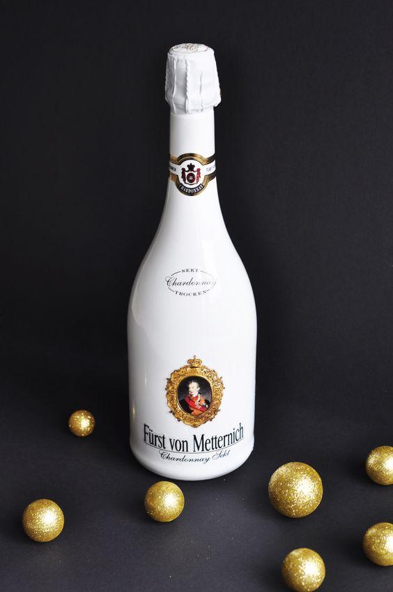 Fürst von Metternich Chardonnay, ein sortenreiner Premiumsekt voll sinnlicher Eleganz.
