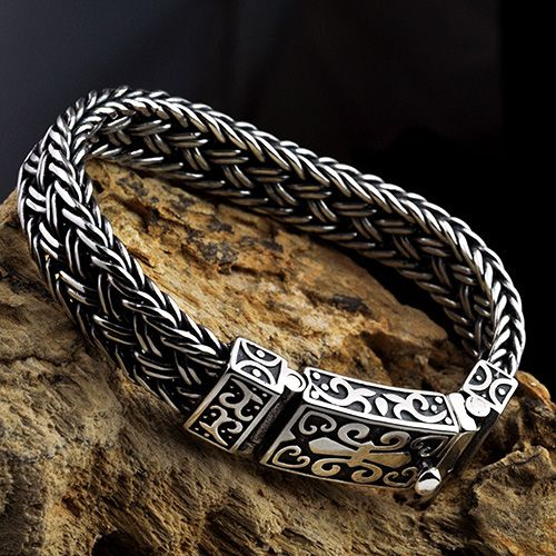 Wheat Braided Twisted Woven Rope Round Bangle Bracelet Sterling Silver With Images Stackable Bangles Stackable Bangle Bracelets Sterling Silver Bracelets