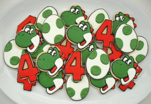 Yoshi Platter by SweetSugarBelle, via Flickr