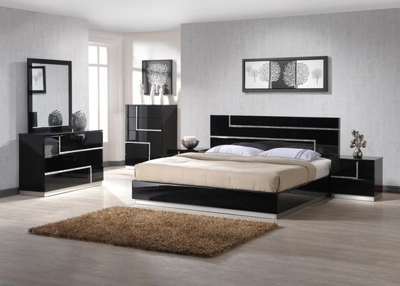 Master Bedroom Moka Beds Gami Moka Master Bedroom Sets by Gautier - moderne schlafzimmermobel sets gautier