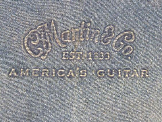 Martin Guitar Craftsman Apron Denim Shop Apron Vintage Made in USA…