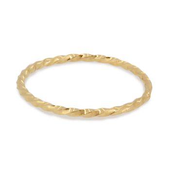 Phalange ring twist K18 gold 1401-PAR17 e.m. #em #phalangering #midiring #twist #gold