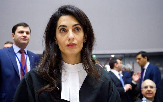 Amal Clooney défendra les victimes sexuelles contre l'Etat islamique