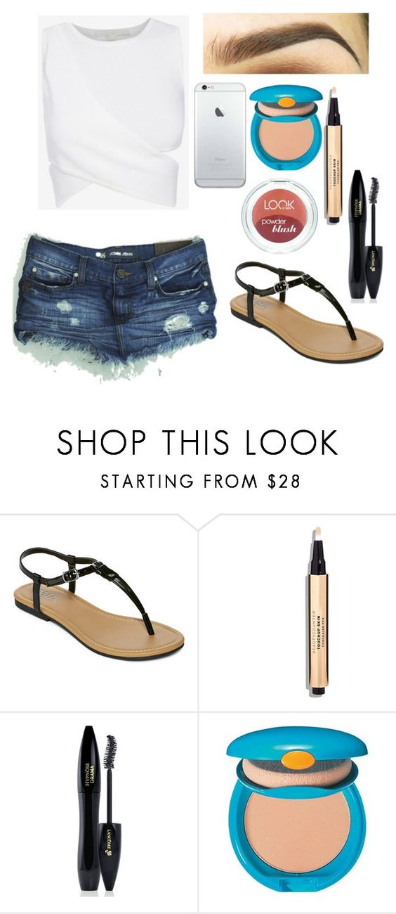 """#Carnaval"" by nathfreire ❤ liked on Polyvore featuring MIA, Lancôme, Shiseido, women's clothing, women, female, woman, misses and juniors"